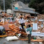 Damage from Japan Quake